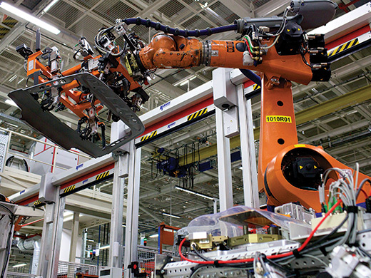Audi Drives Innovation On The Shop Floor Mit Technology