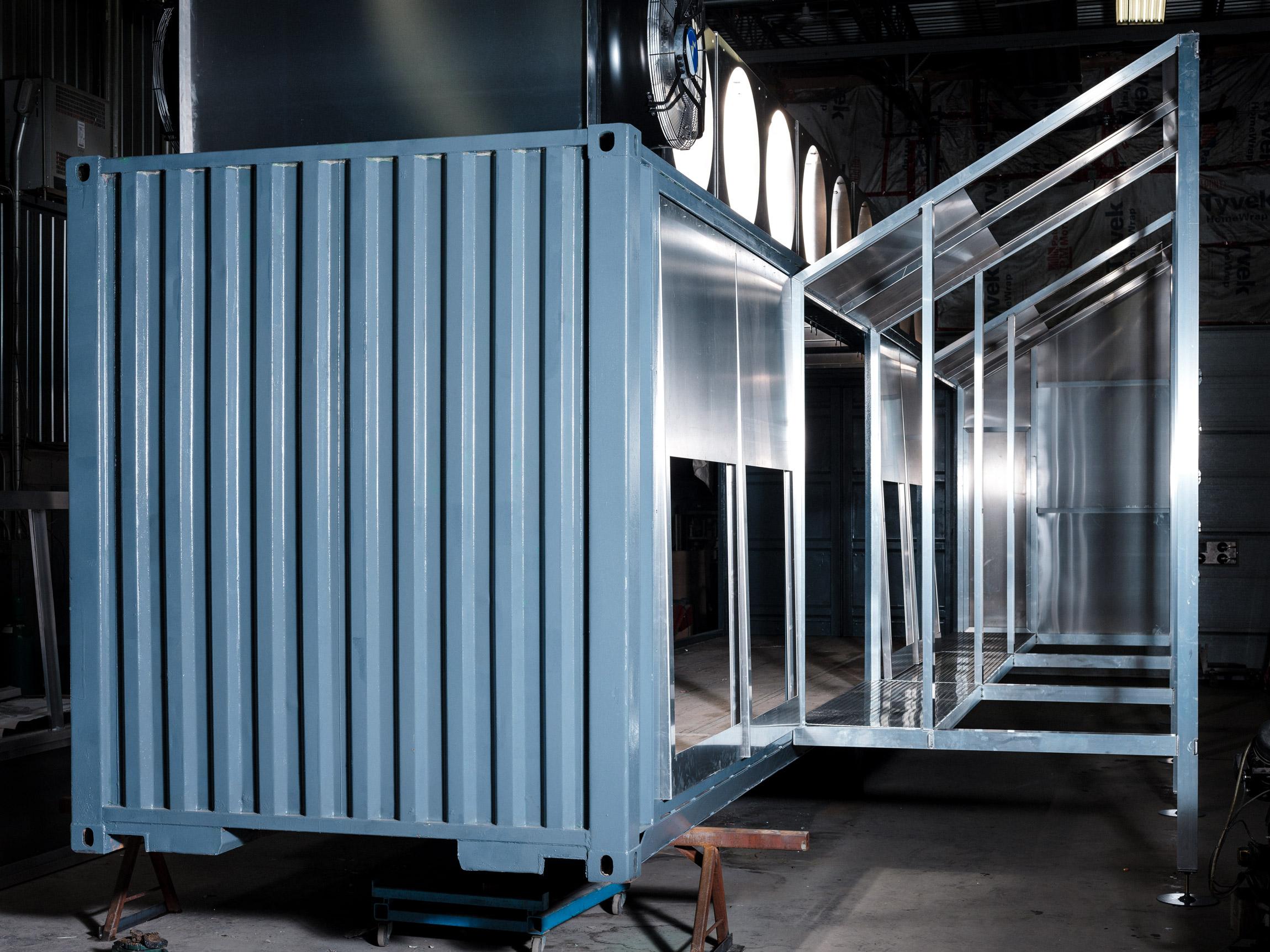 Esta cápsula autónoma está diseñada para reducir las necesidades de refrigeración de la criptografía.