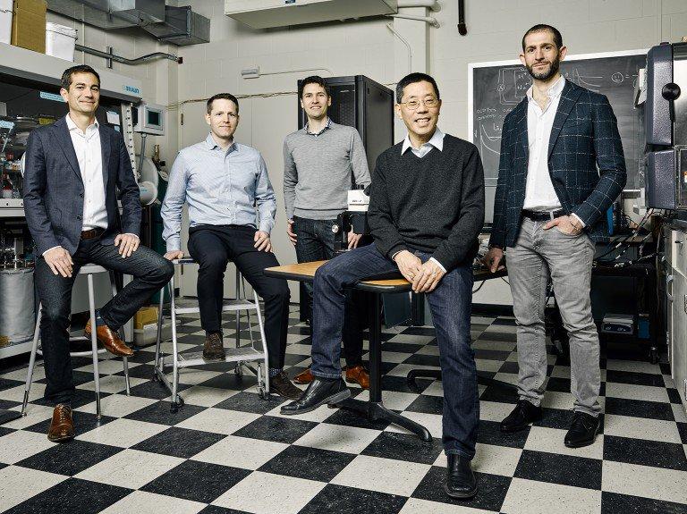 El equipo fundador de Form Energy.