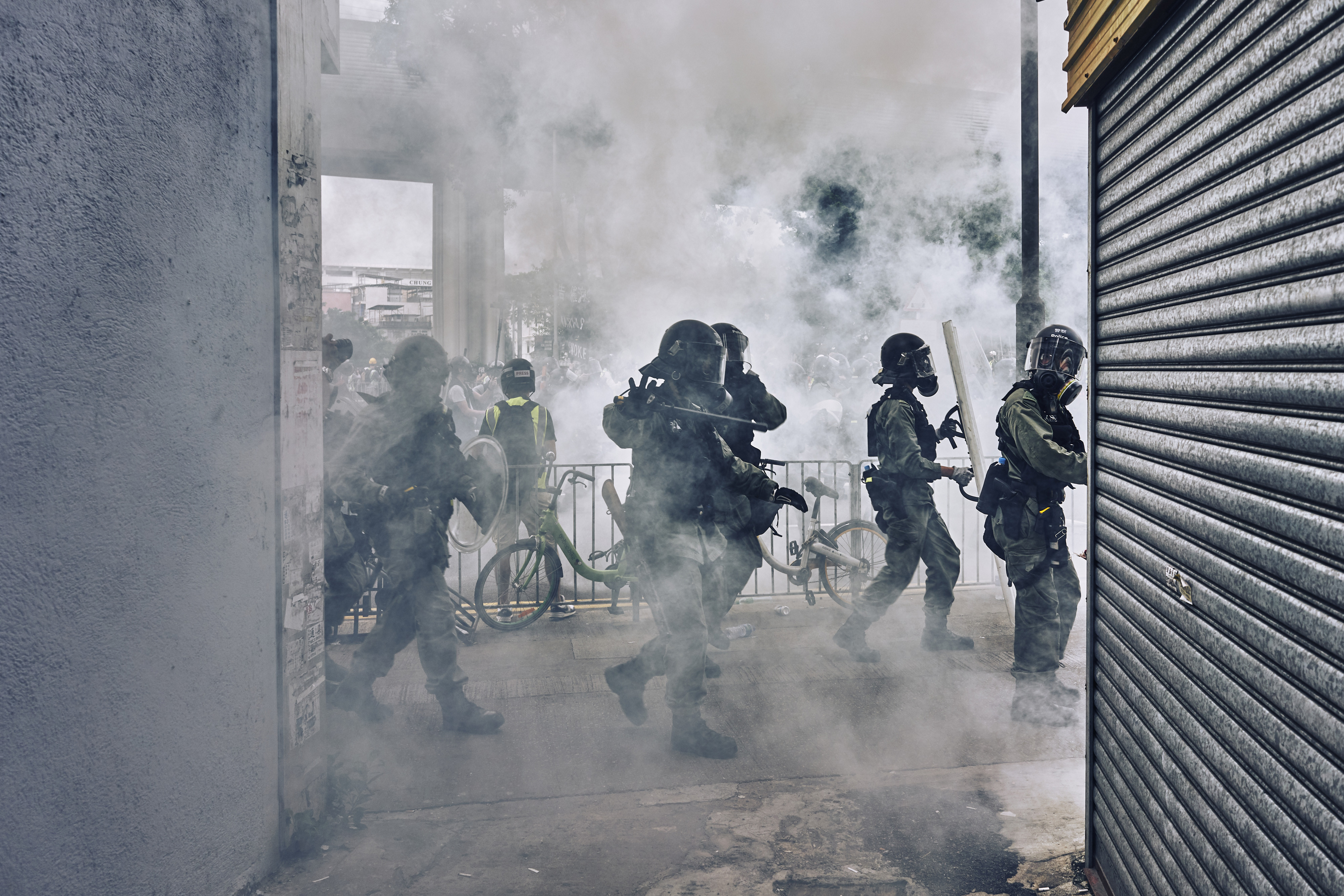 Mano dura: más de un millón de personas asistieron a una manifestación condenando la brutalidad policial en agosto.