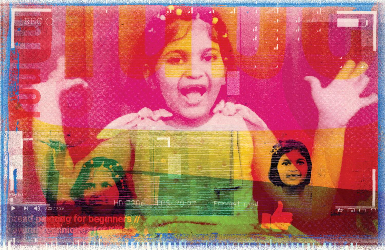 La madre de Siddhika, de siete años, no le dice cuántos suscriptores tiene.