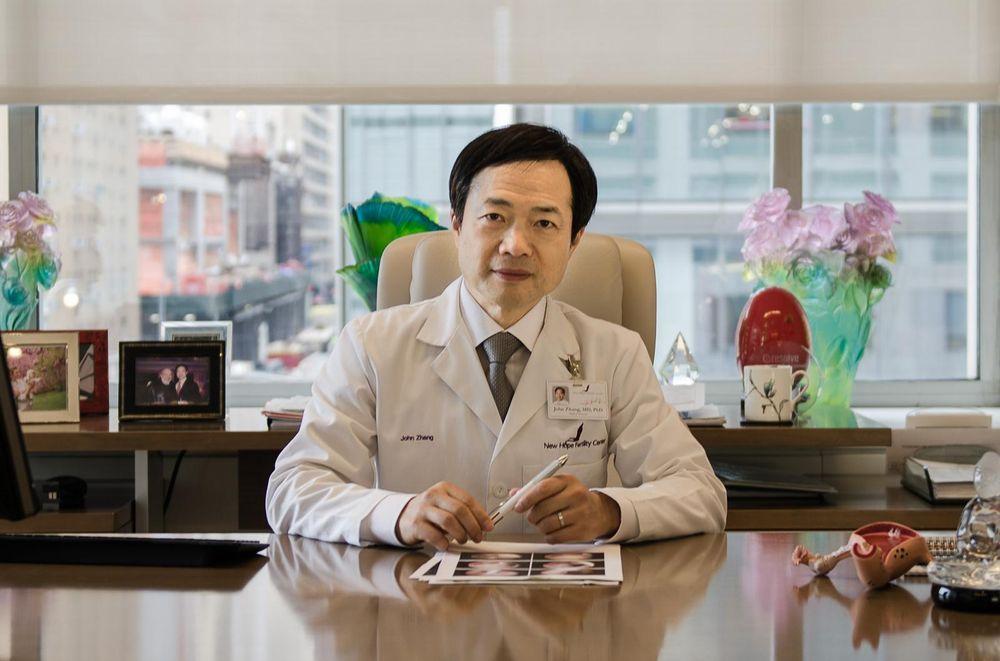 John Zhang es el fundador de New Hope Fertility en Manhattan. Discutió una colaboración con los científicos chinos que crearon los primeros bebés CRISPR.