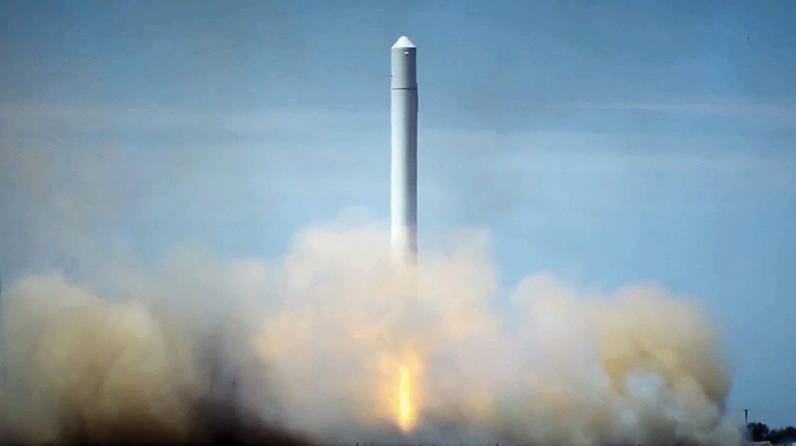 10 Breakthrough Technologies 2016: Reusable Rockets