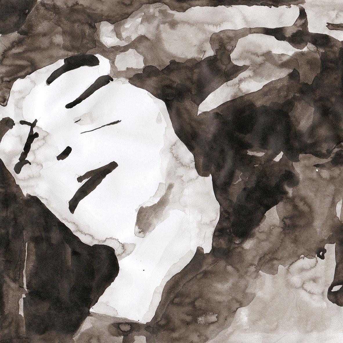 <u> La caída de la casa de Usher de Anna Ridler </u> (2017) <br> Una animación de 12 minutos basada en la película muda de Watson y Webber de 1928. Ridler creó los alambiques usando tres redes neuronales separadas: una entrenada en sus dibujos, otra entrenada en dibujos hechos con los resultados de la primera red, y una tercera entrenada en dibujos hechos de los resultados de la segunda.
