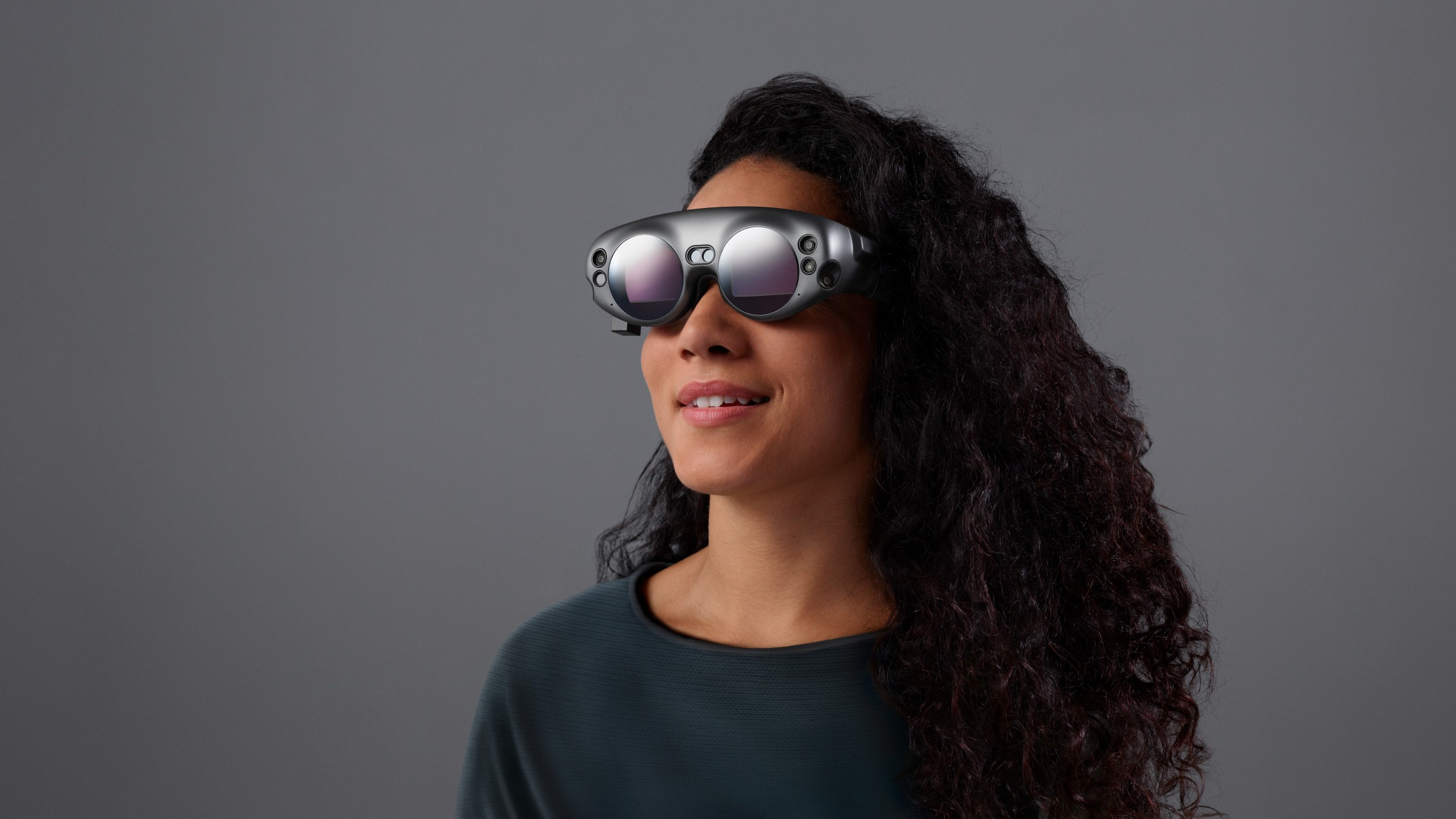 El auricular Magic Leap One.