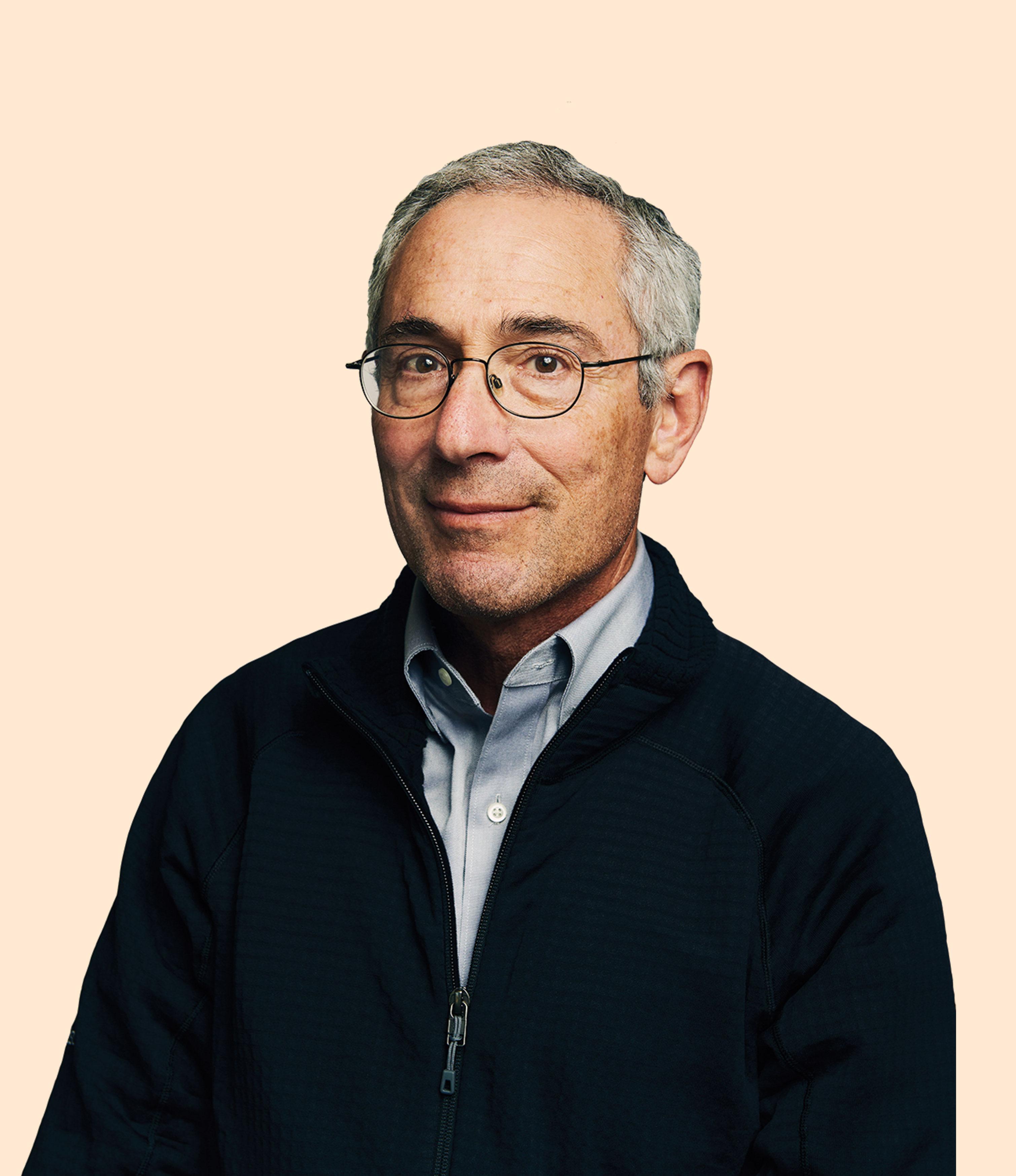 El cofundador Tom Insel, psiquiatra y ex director del Instituto Nacional de Salud Mental.