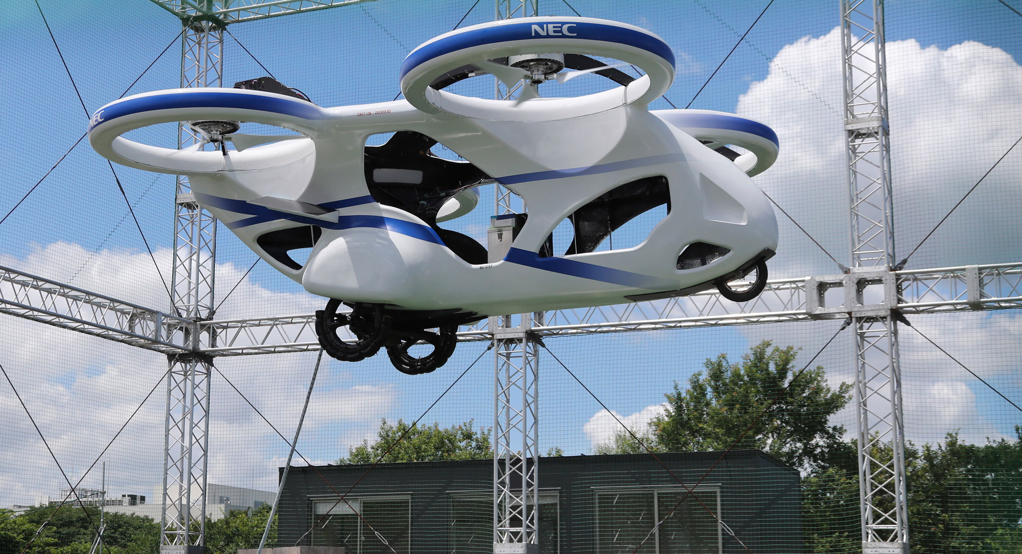 """A Japanese """"flying car"""" has successfully made its first test"""