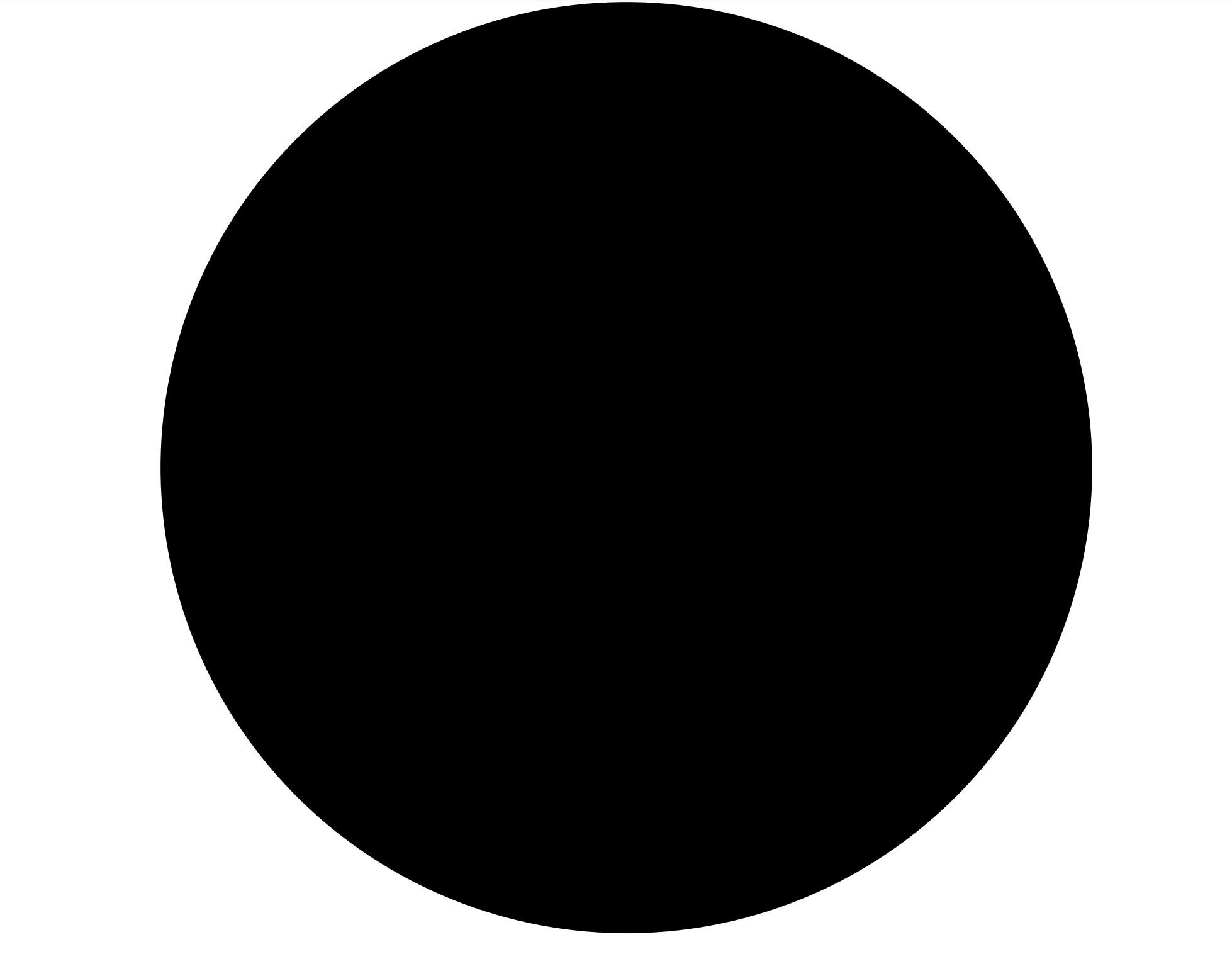 Un agujero negro primordial en masa de cinco Tierras (tamaño real 5 cm)