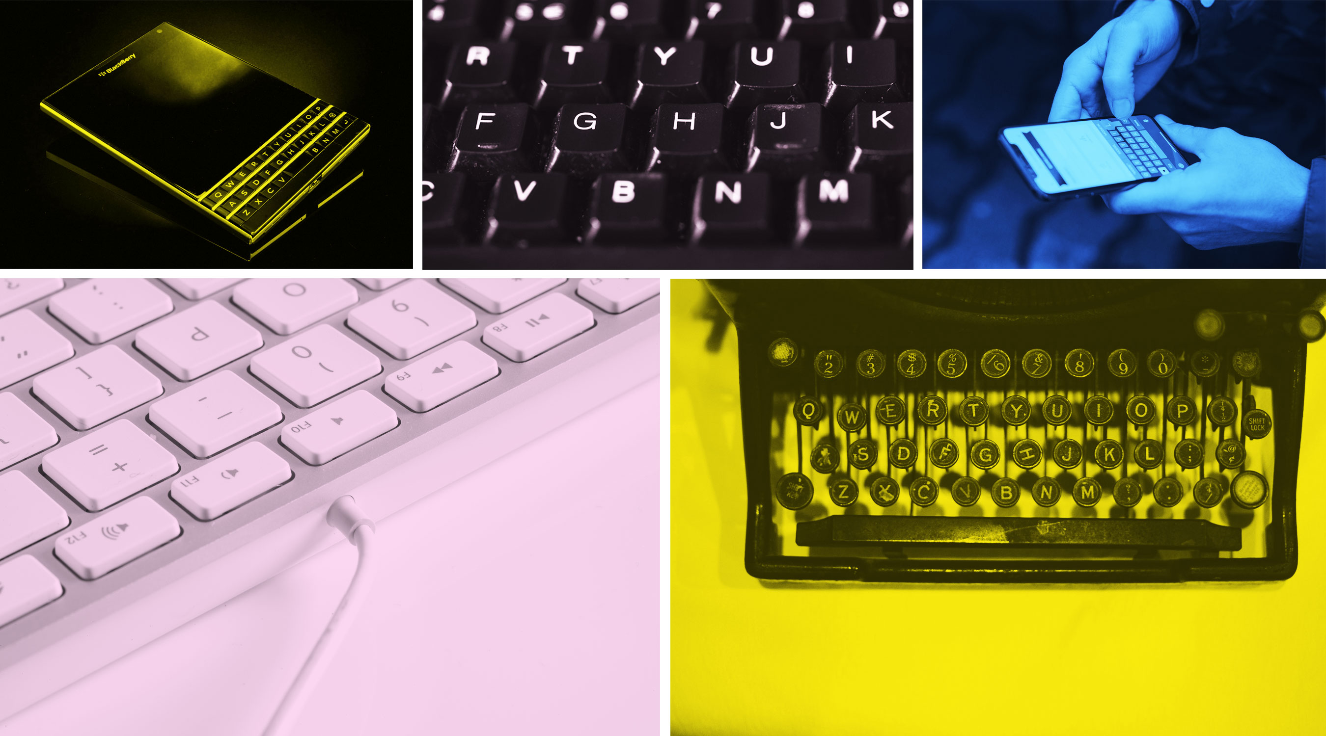 Why we can't quit the QWERTY keyboard - MIT Technology Review