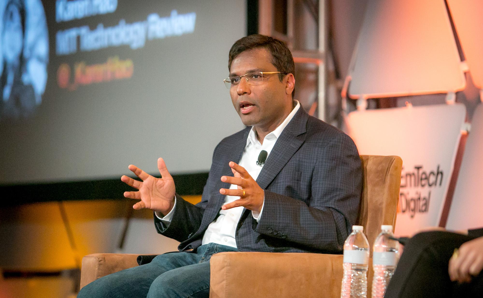 Rohit Prasad, vicepresidente y científico jefe de Alexa.