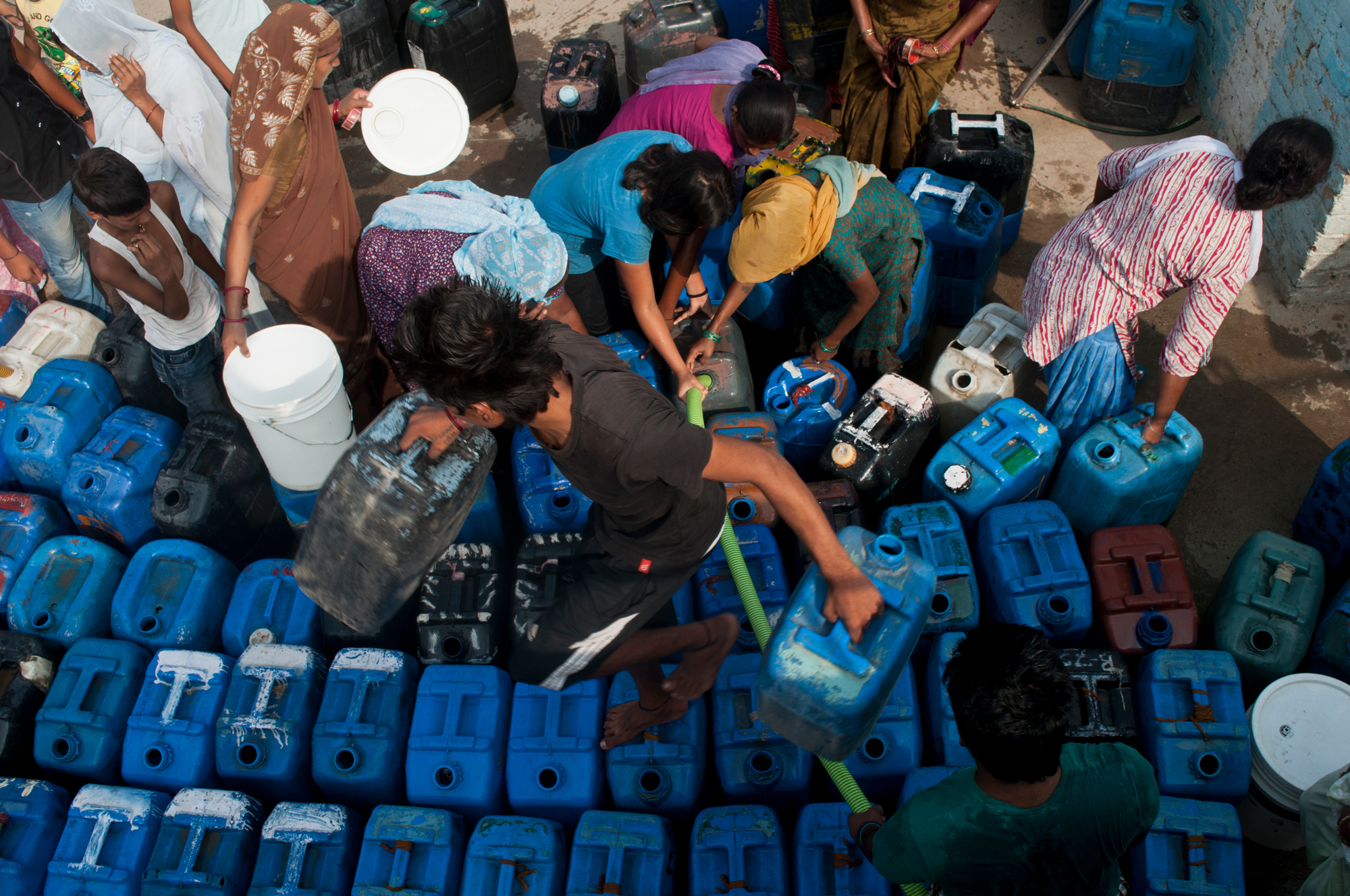 India's water crisis is already here  Climate change will