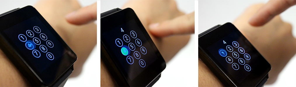 Use Your Arm as a Smart-Watch Touch Pad - MIT Technology Review