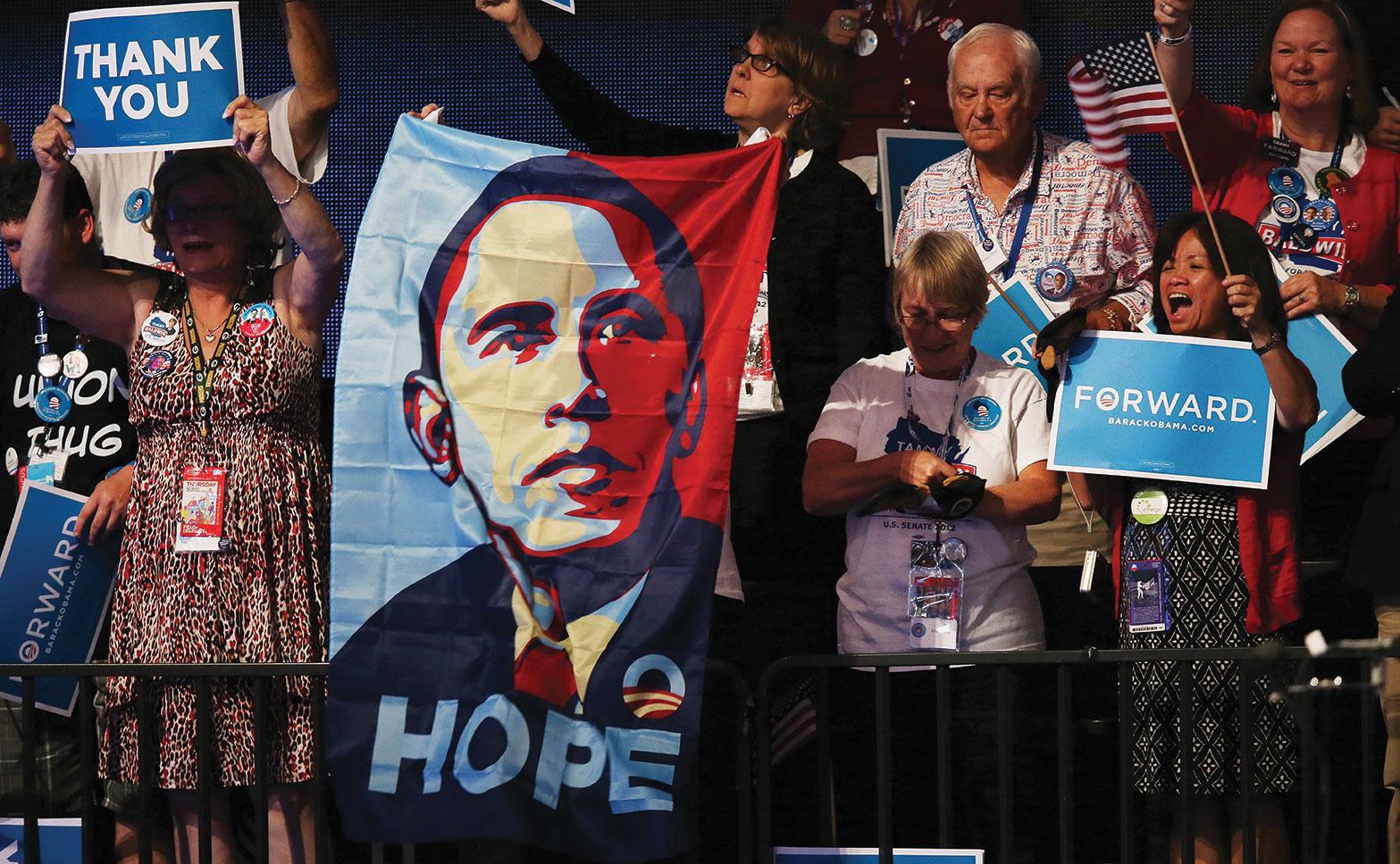 Hubo artículos laudatorios sobre el uso de Barack Obama de perfiles de votantes y microtargeting.