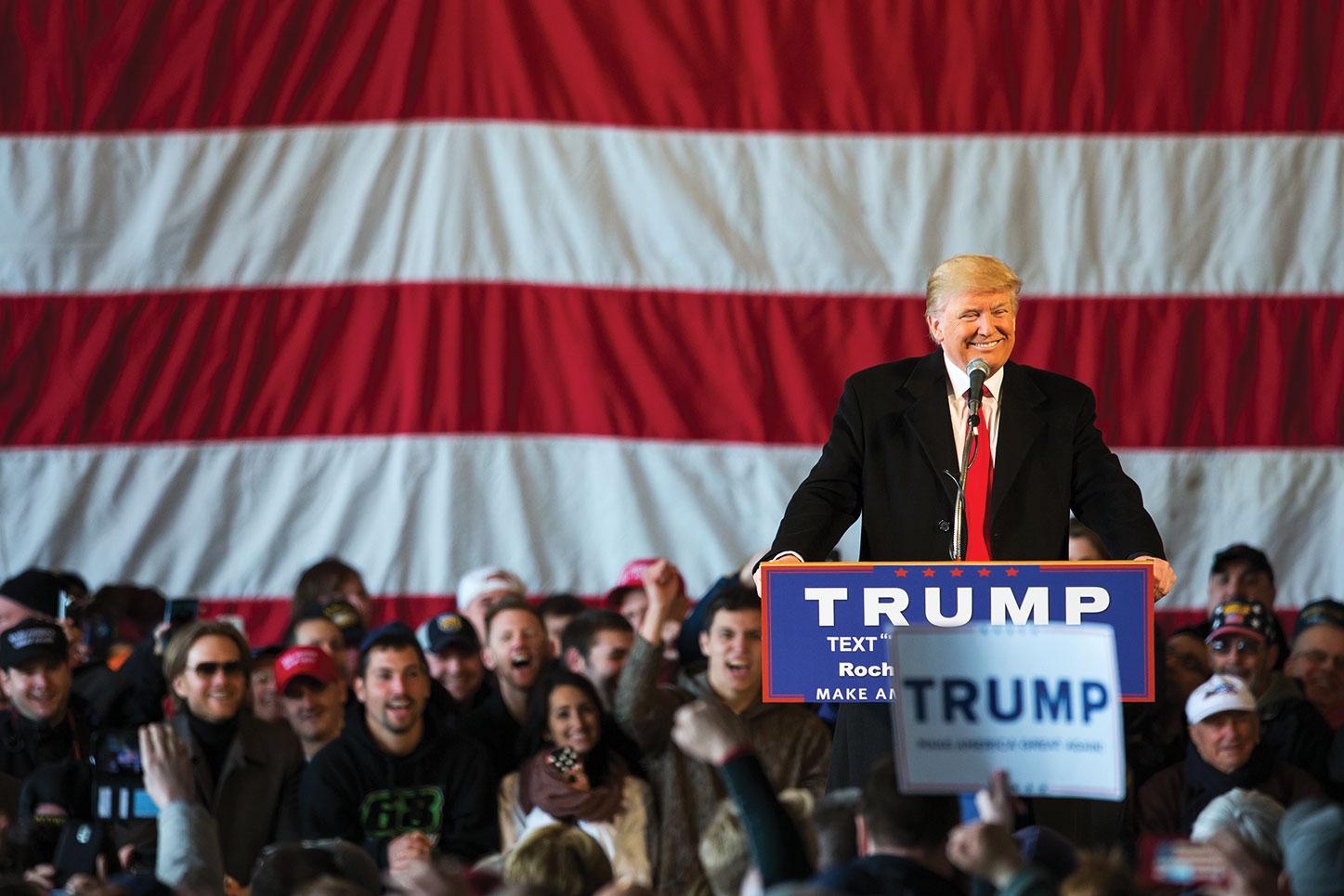 La campaña de Donald Trump se destacó en el uso de Facebook, ya que fue diseñado para ser utilizado por los anunciantes.