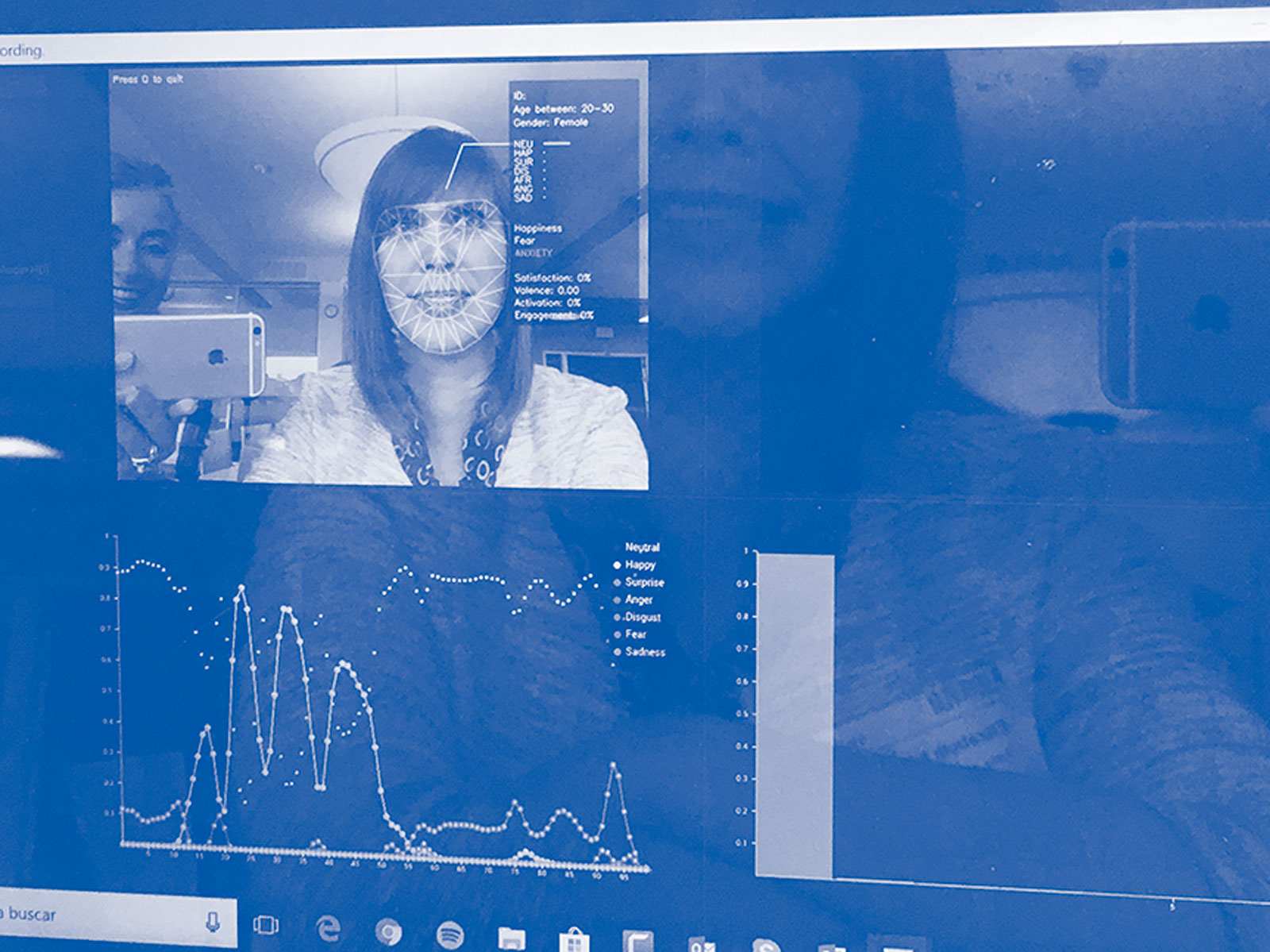 Los profesionales biométricos dicen que pueden aprovechar las verdades que los votantes no pueden expresar.