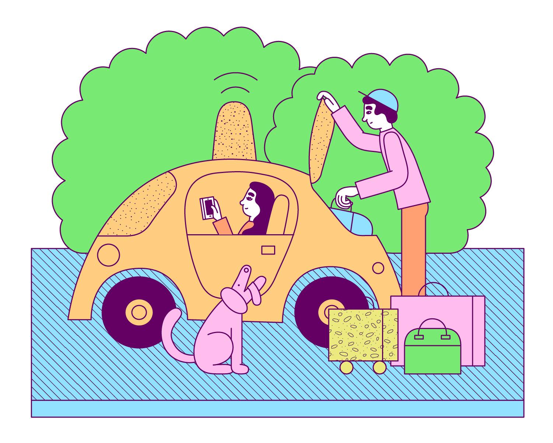 ROBOTS DE BASURA <br> Sidewalk Labs propone transportar basura en túneles subterráneos para reducir el tráfico de la calle y las emisiones de gases de efecto invernadero. Los robots ordenarían y transportarían los desechos y también podrían entregar correo y paquetes.
