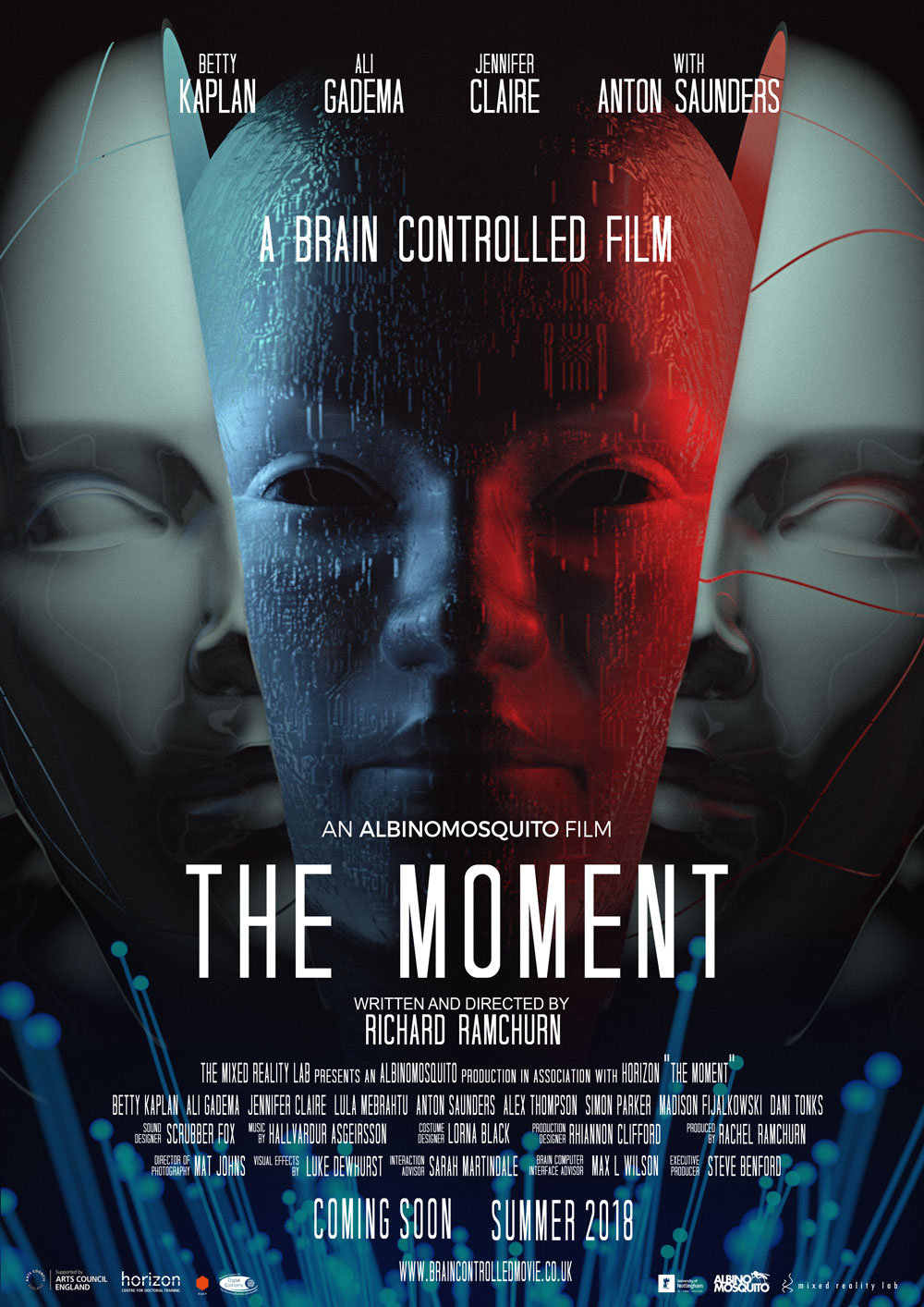 El póster promocional de <i> The Moment </ i>, Richard Ramchurn