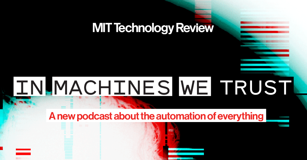 In Machines We Trust