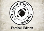 Ad for Sports Dice - Football Edition - Dr. Livingstin Games