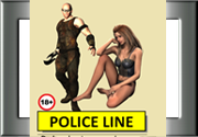 Ad for Police line