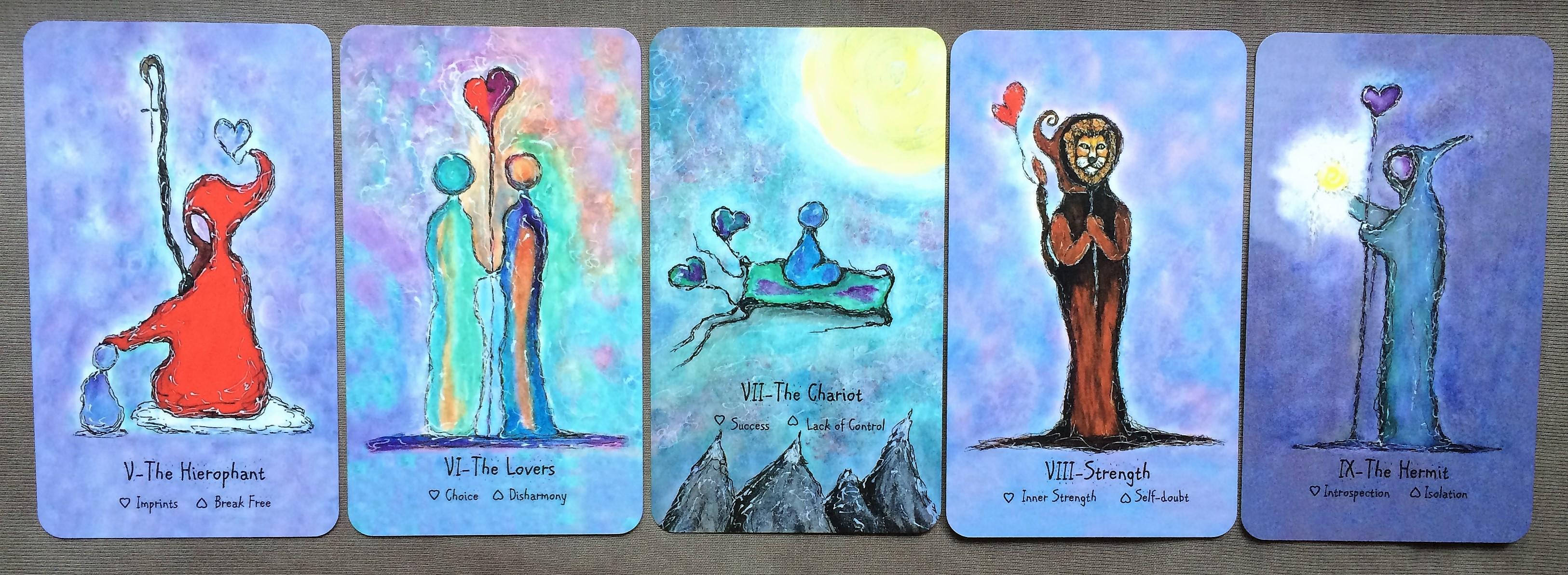 HeARTful Spirits Tarot with Hints