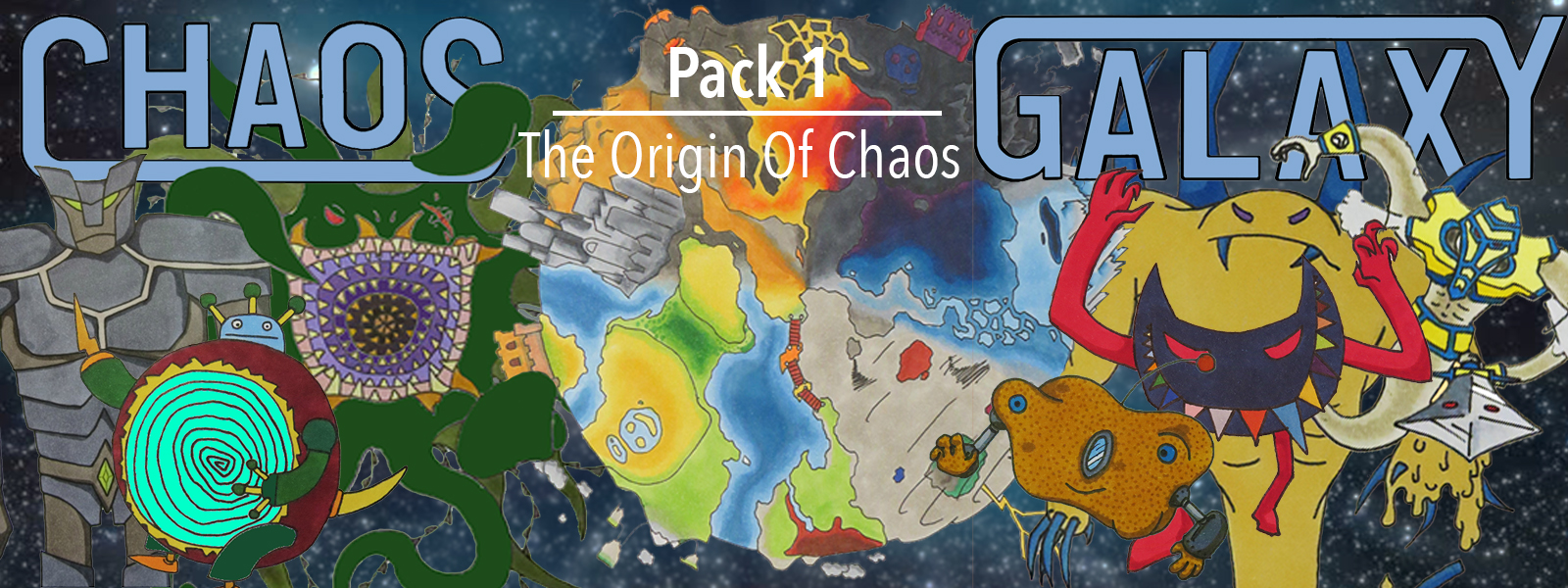 Chaos Galaxy TCG Set 1: The Origin of Chaos - Booster Pack
