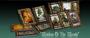 """Wisdom Of The Woods""™ - A Unique & Rare Celtic Tree Oracle Logo"