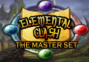 Ad for Elemental Clash - The Master Set