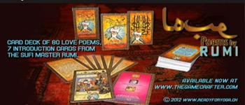Love Poems by RUMI - CARD DECK Logo