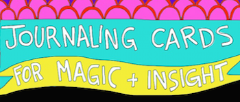 Journaling Cards for Magic + Insight Logo