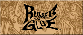 RUBBER -N- GLUE Logo