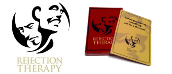 Rejection Therapy - The Game Logo