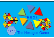 Ad for HEXI - The Hexagon Game
