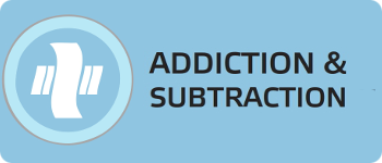Addiction and Subtraction Logo