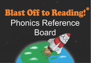 Ad for Phonics Reference Board