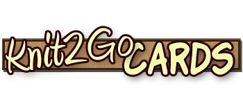 Knit2Go Cards Logo