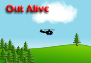Ad for Out Alive: The Survival Card Game
