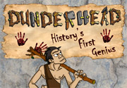 Ad for Dunderhead, History's First Genius