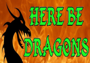 Ad for Here Be Dragons