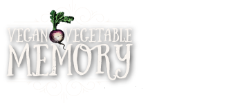 Vegan Vegetable Memory Game Logo