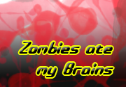 Ad for Zombies ate my Brains