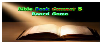 Bible Book Connect 5 Board Game Logo