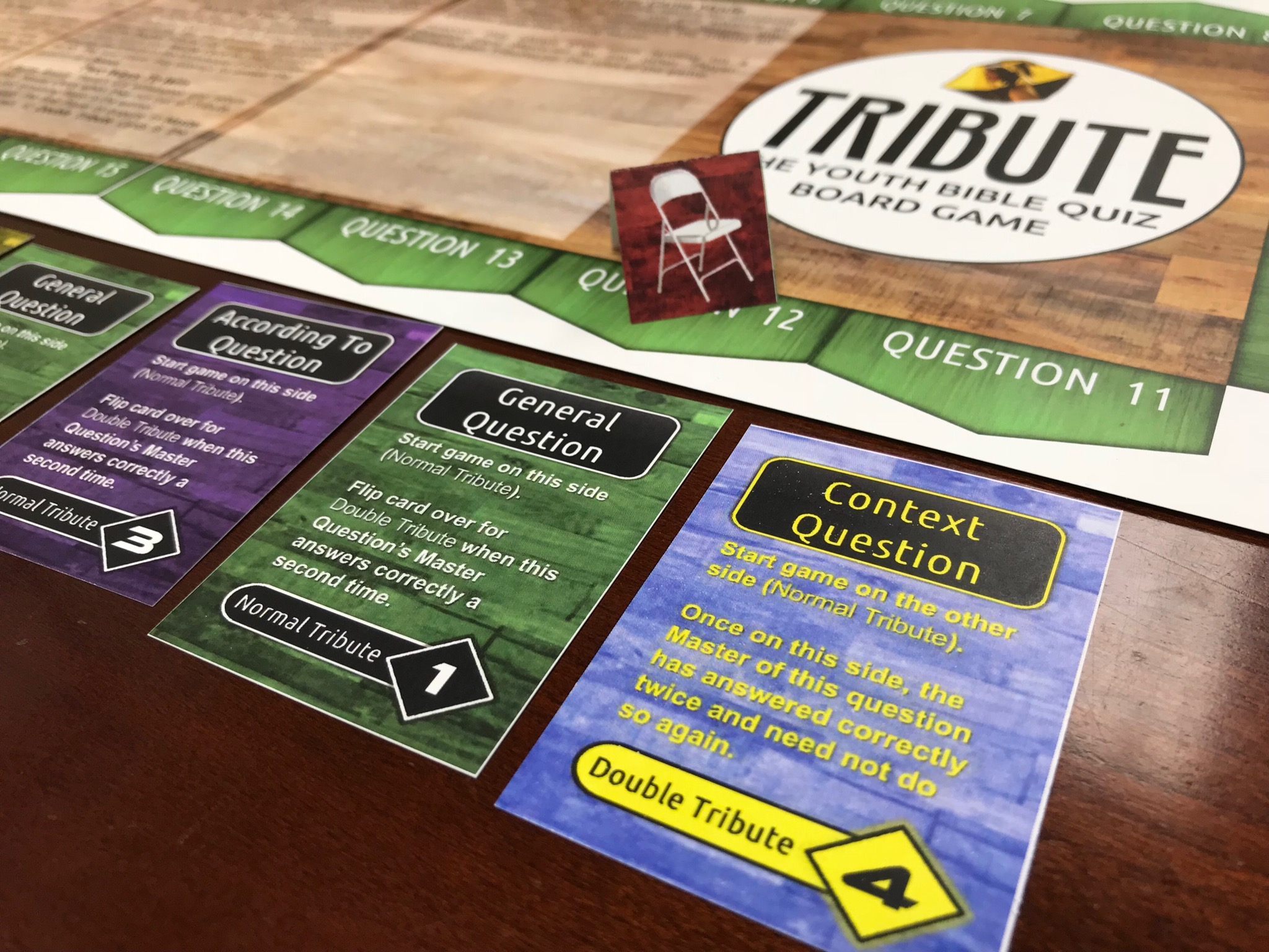 Tribute: The Youth Bible Quiz Board Game (Digital Download)
