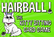 Ad for Hairball! - The Kitty Sitting Card Game