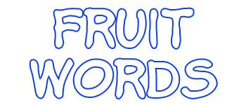 Fruit Words Logo