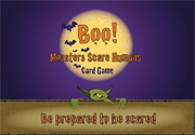 Ad for Boo! Monsters Scare Humans