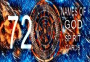 Ad for 72 Names of God Spirit Cards