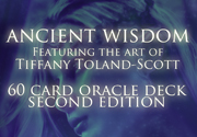 Ad for Ancient Wisdom Oracle Deck Deluxe Edition