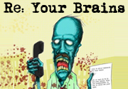 Ad for Re: Your Brains