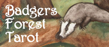 Badgers Forest Tarot Logo